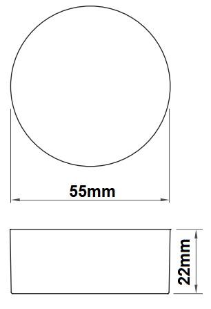 Dimensions transformateur LCI ET-70R