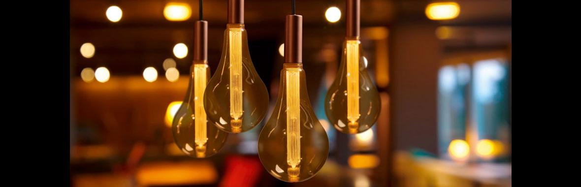 Les nouvelles ampoules LED effet vintage