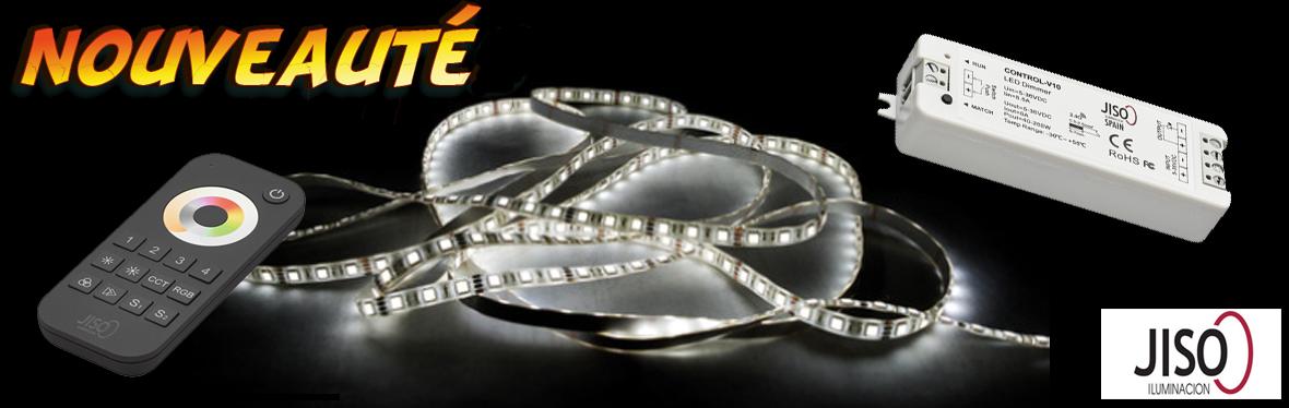 Rubans LED et accessoires de branchement