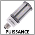 Ampoule LED Forte puissance E27/E40