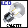 Lampes LED avec calotte