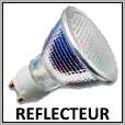 Lampe iodure métallique avec réflecteur