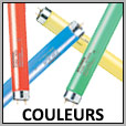 Tubes fluos couleurs T8