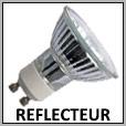 Lampes réflecteur halogène GU10/E27/E14