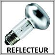 Lampes réflecteur à incandescence E27/E14