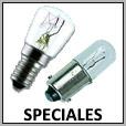 Lampes spéciales incandescente