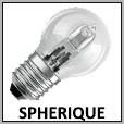 Lampes sphérique halogène E14/E27/B22
