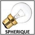 Lampes sphérique à incandescence E14/E27/B22