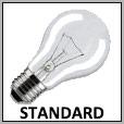 Lampes standard à incandescence E27/B22