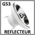 Lampe LED réflecteur G53  basse tension